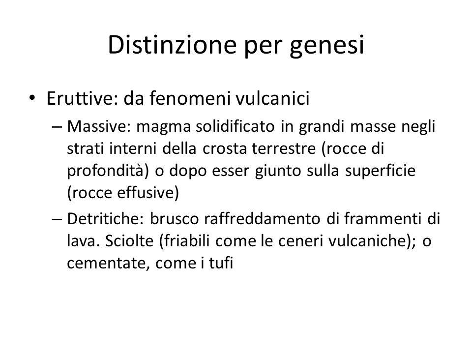 Distinzione per genesi