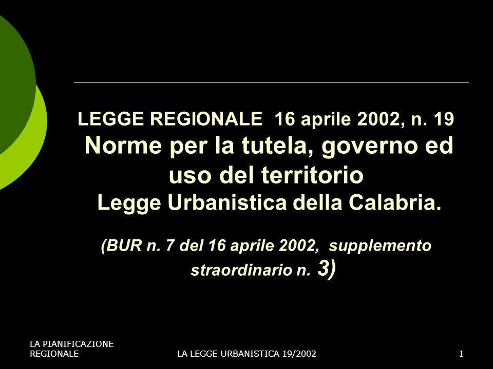 LEGGE REGIONALE 16 aprile 2002, n