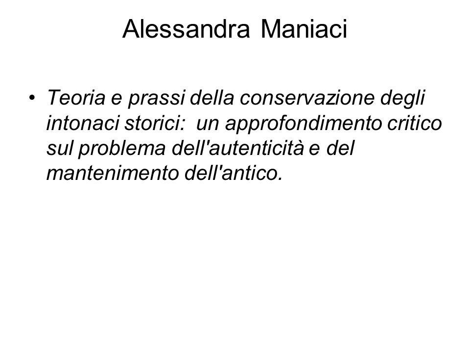 Alessandra Maniaci