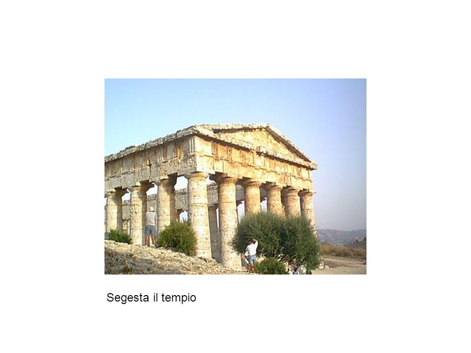 Segesta il tempio