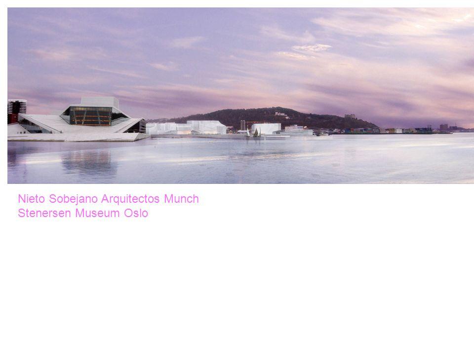 Nieto Sobejano Arquitectos Munch Stenersen Museum Oslo
