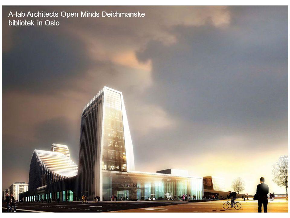 A-lab Architects Open Minds Deichmanske bibliotek in Oslo