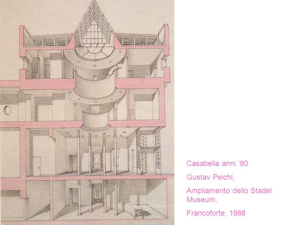 Casabella anni '80 Gustav Peichl, Ampliamento dello Stadel Museum, Francoforte, 1988