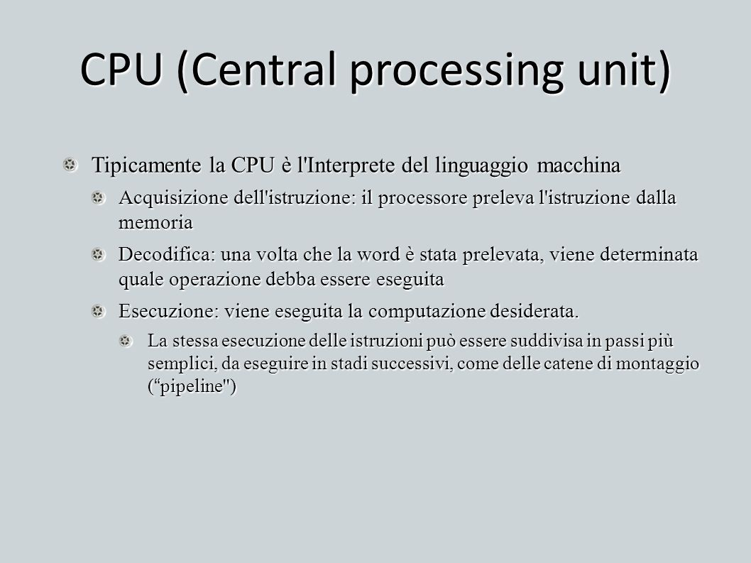 CPU (Central processing unit)‏