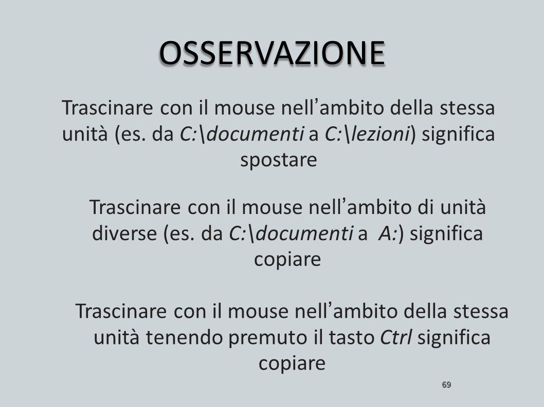 Inf. az II a.a. 2006/07 M. Riani. OSSERVAZIONE.