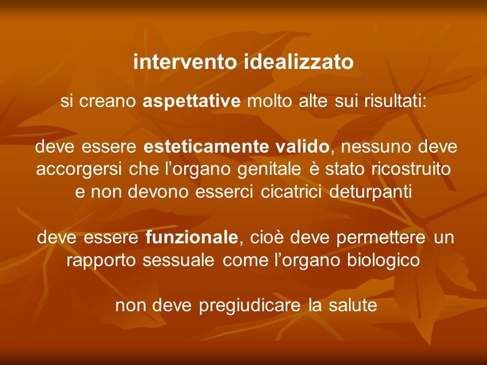intervento idealizzato