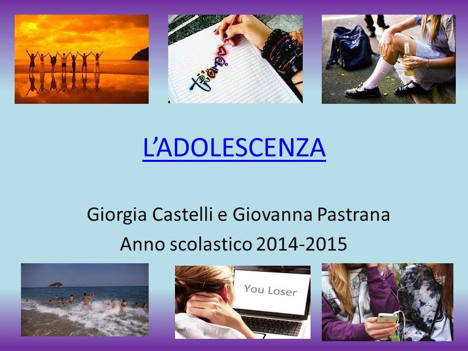 Giorgia Castelli e Giovanna Pastrana Anno scolastico 2014-2015