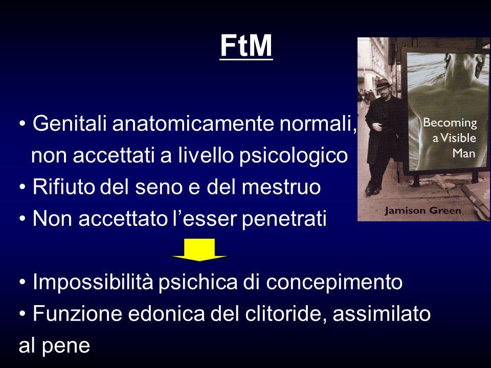 FtM Genitali anatomicamente normali,
