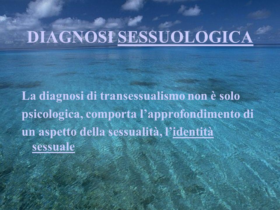DIAGNOSI SESSUOLOGICA