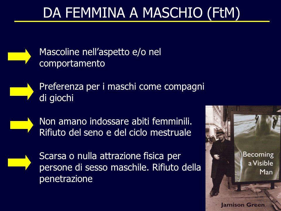 DA FEMMINA A MASCHIO (FtM)