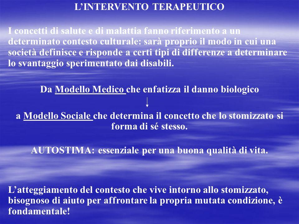 L'INTERVENTO TERAPEUTICO