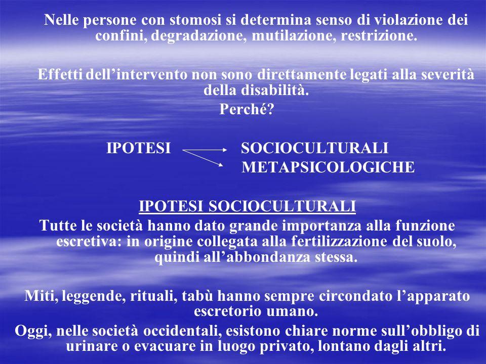 IPOTESI SOCIOCULTURALI IPOTESI SOCIOCULTURALI