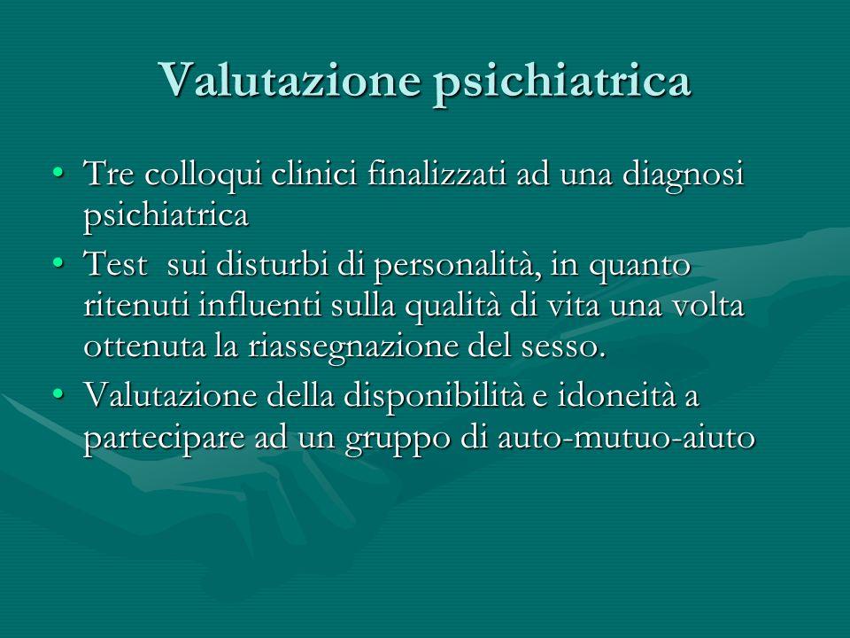 Valutazione psichiatrica