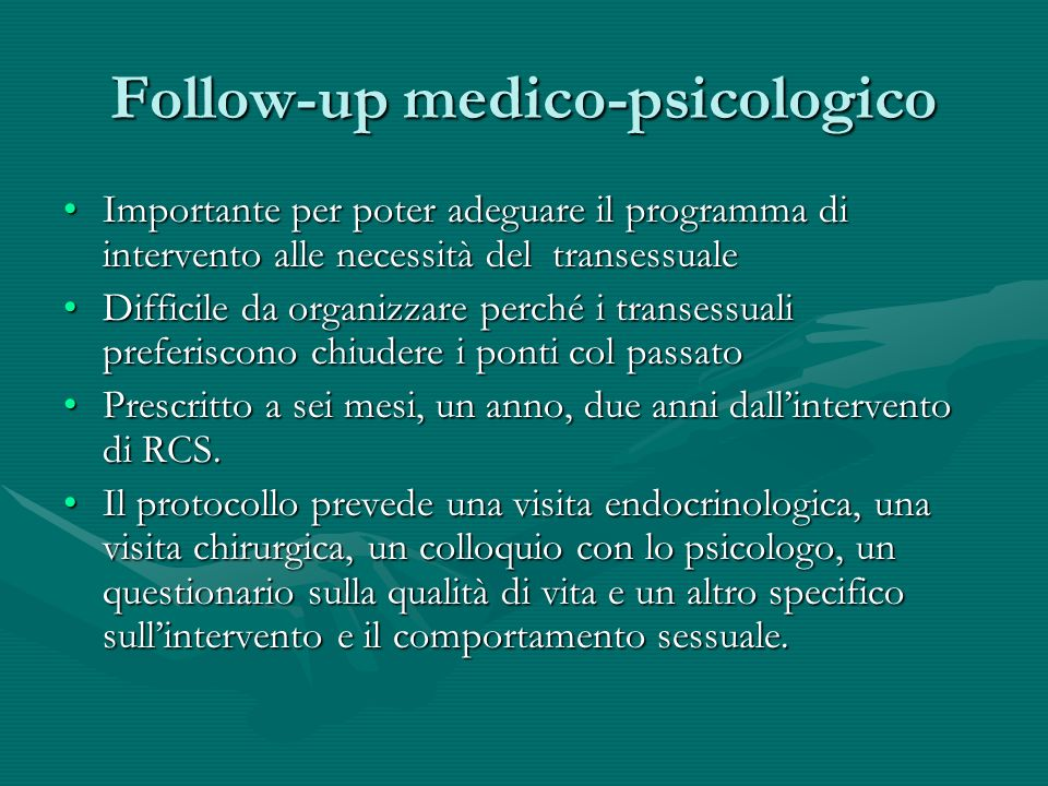 Follow-up medico-psicologico