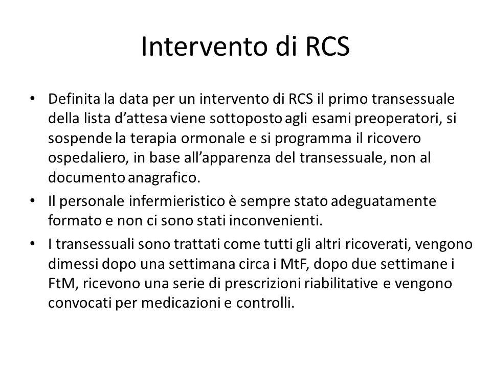 Intervento di RCS