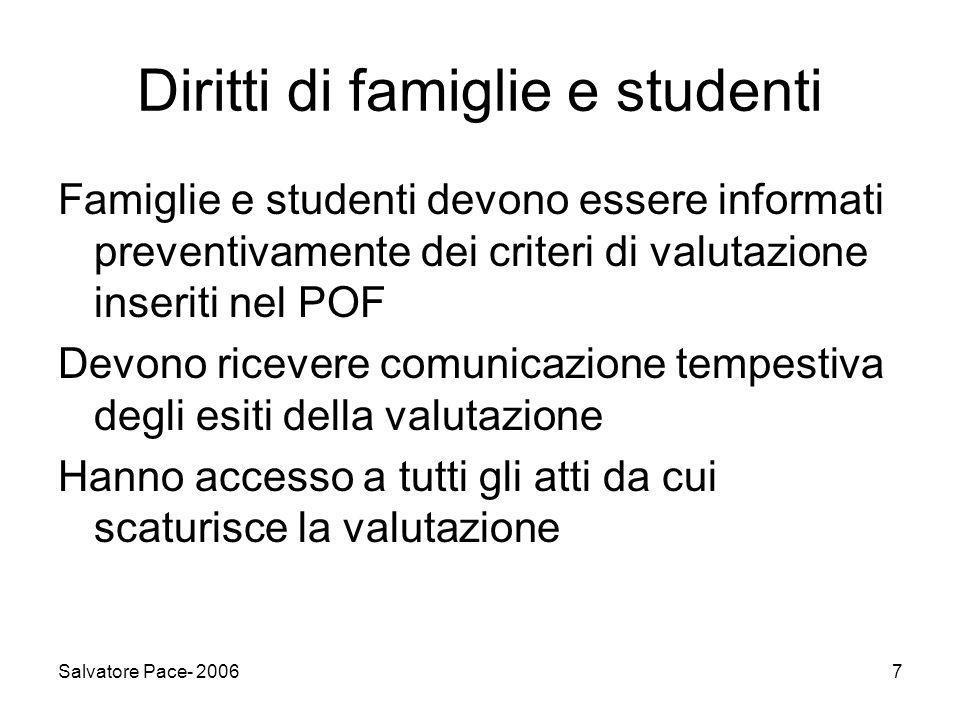Diritti di famiglie e studenti