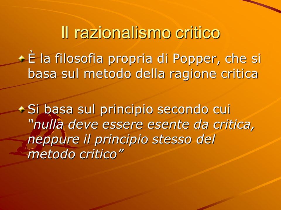 Il razionalismo critico