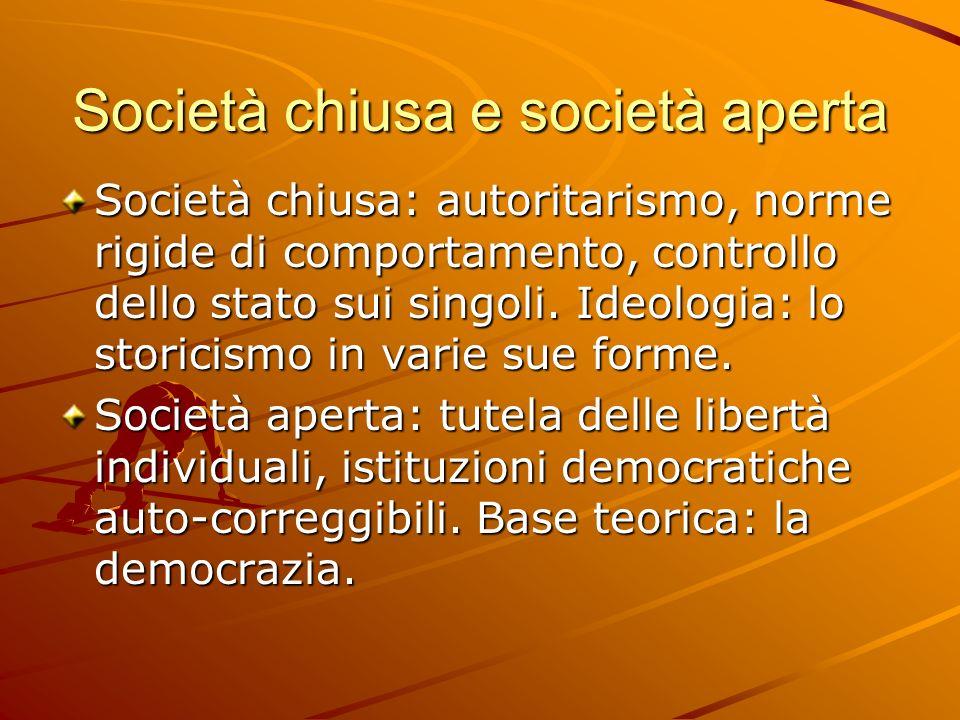 Società chiusa e società aperta