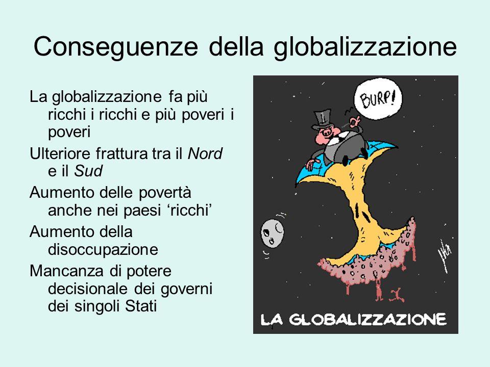 Conseguenze della globalizzazione