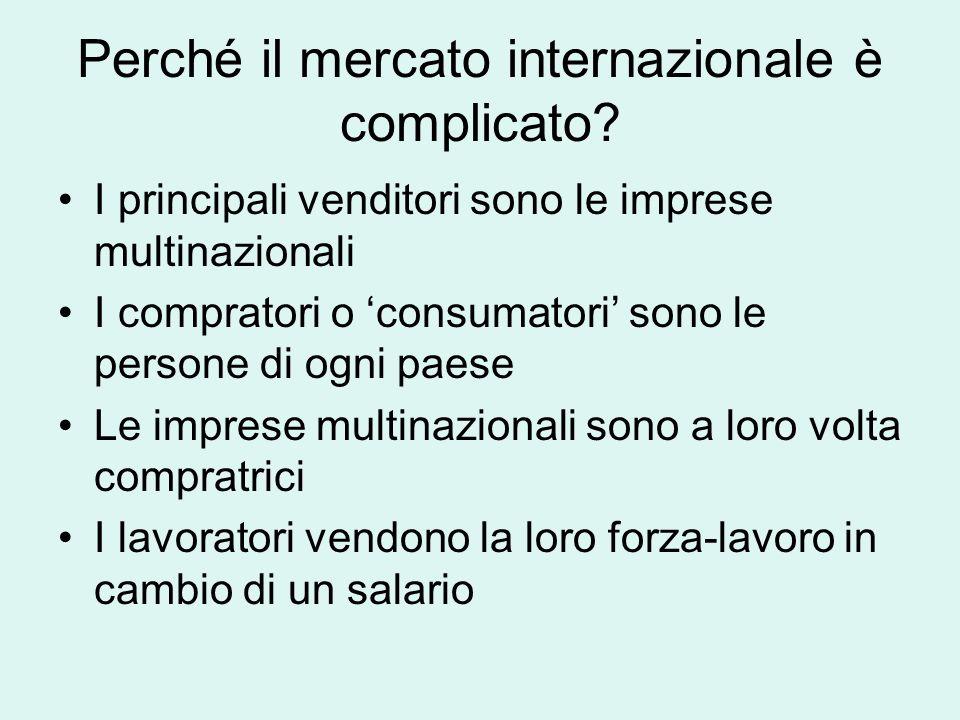 Perché il mercato internazionale è complicato