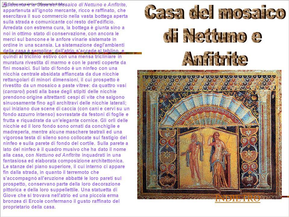 Casa del mosaico di Nettuno e Anfitrite INDIETRO