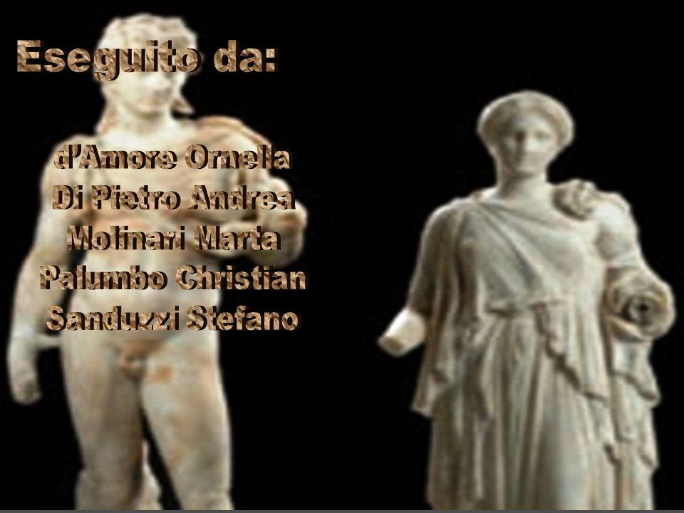 Eseguito da: d'Amore Ornella Di Pietro Andrea Molinari Marta
