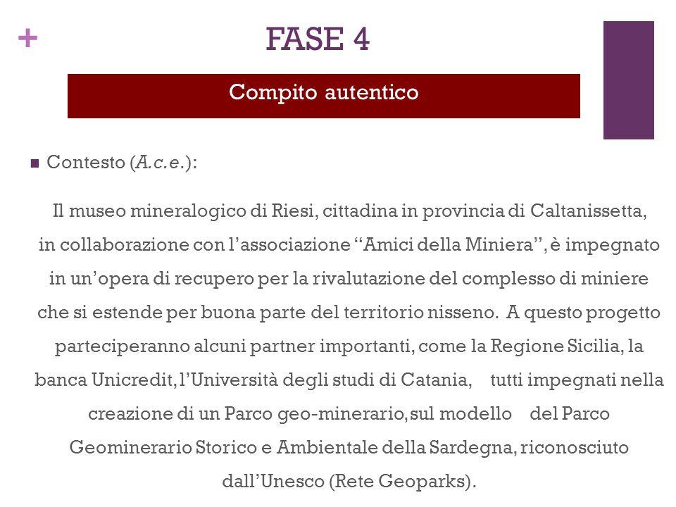 FASE 4 Compito autentico Contesto (A.c.e.):