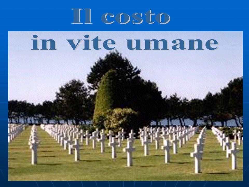 Il costo in vite umane