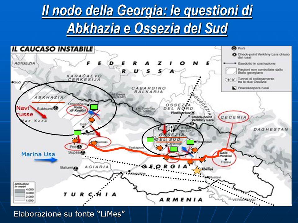 Il nodo della Georgia: le questioni di Abkhazia e Ossezia del Sud