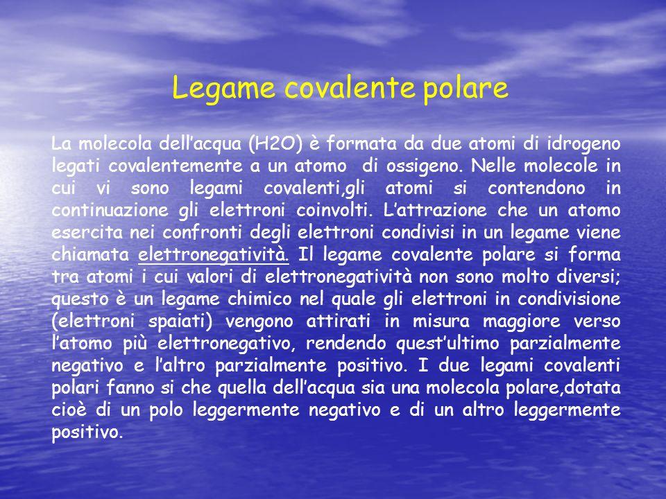 Legame covalente polare