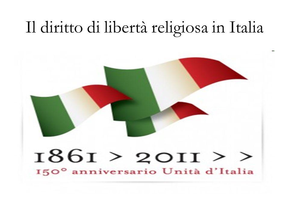 Il diritto di libertà religiosa in Italia