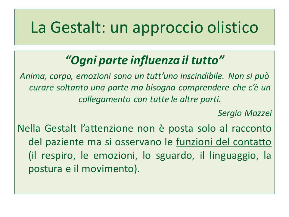La Gestalt: un approccio olistico