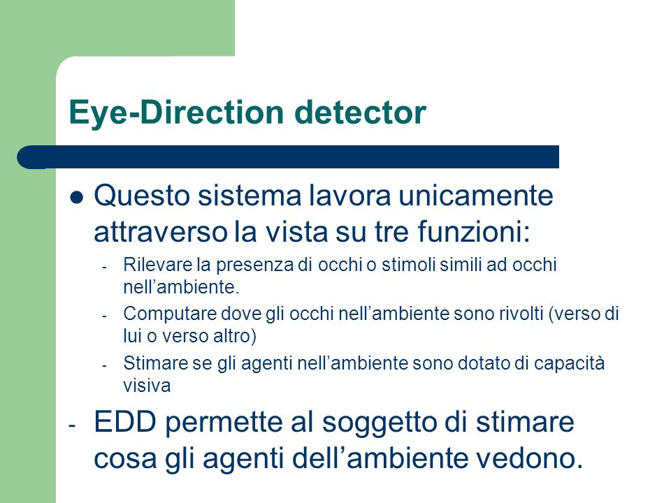 Eye-Direction detector