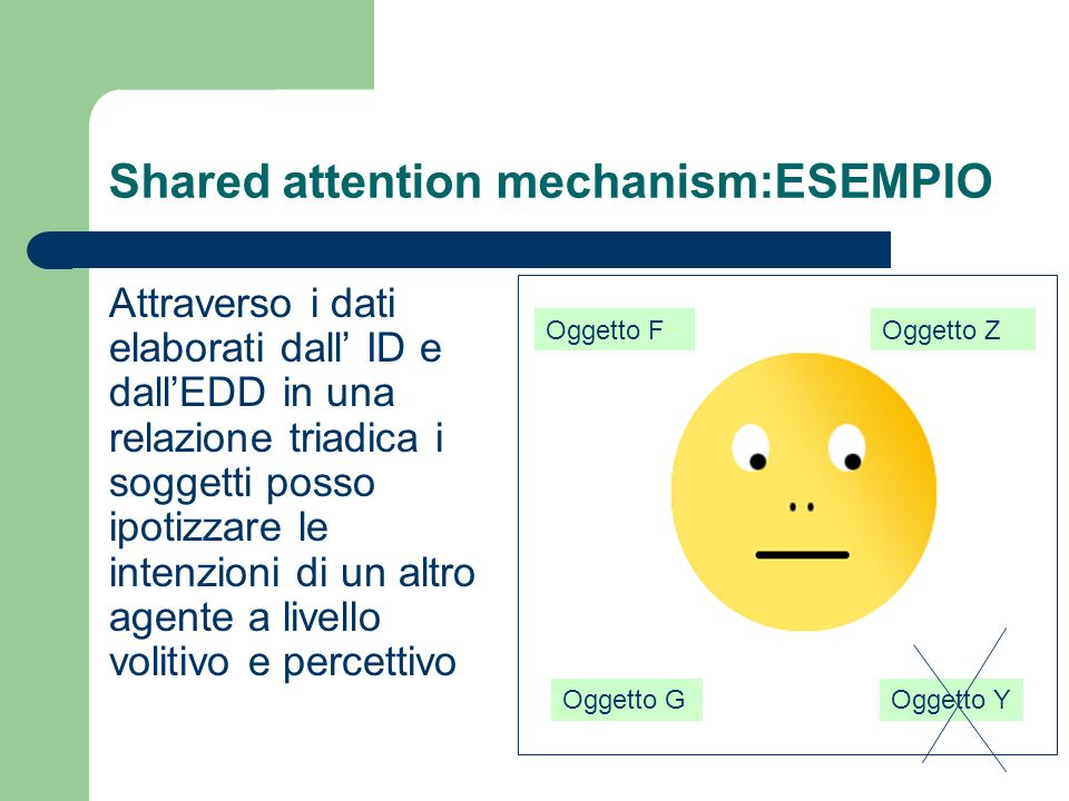 Shared attention mechanism:ESEMPIO