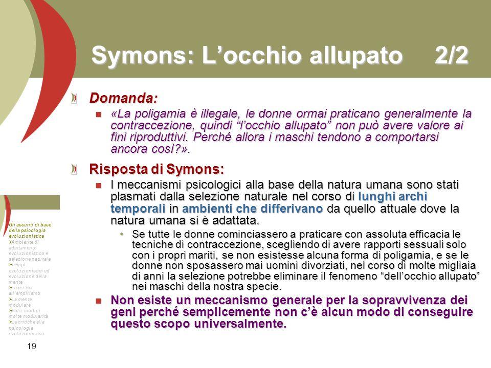 Symons: L'occhio allupato 2/2