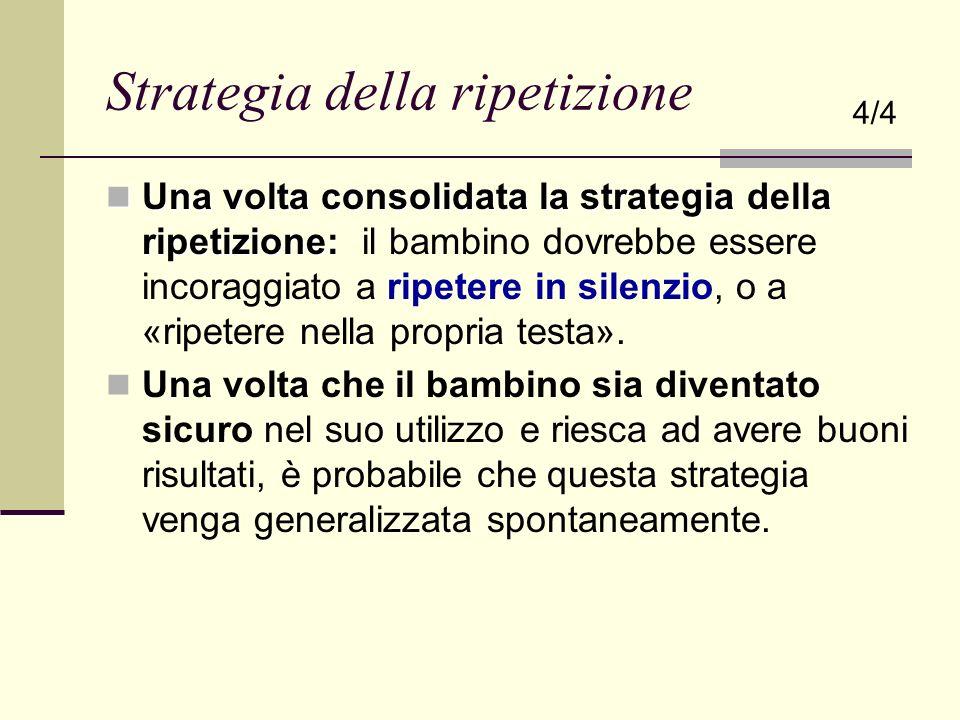 Strategia della ripetizione