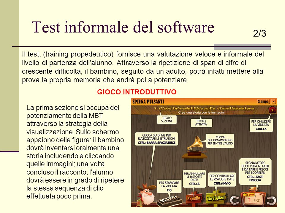 Test informale del software