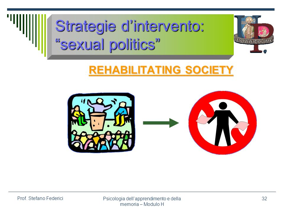 Strategie d'intervento: sexual politics
