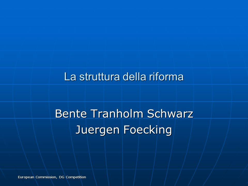 La struttura della riforma