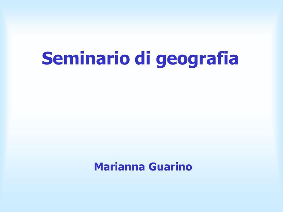 Seminario di geografia