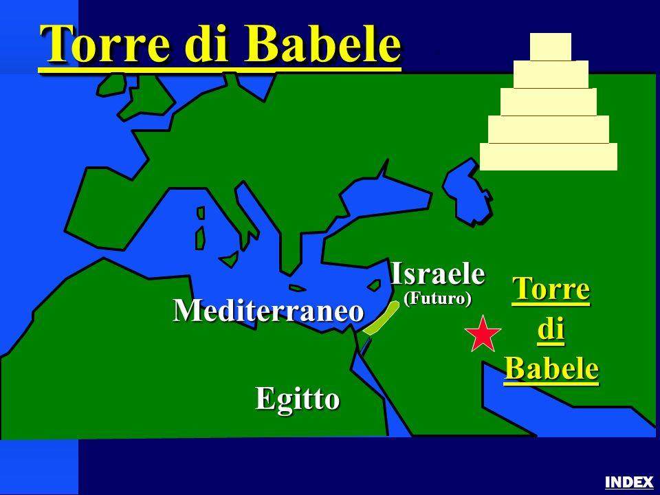 Torre di Babele Israele Torre di Mediterraneo Babele Egitto (Futuro)