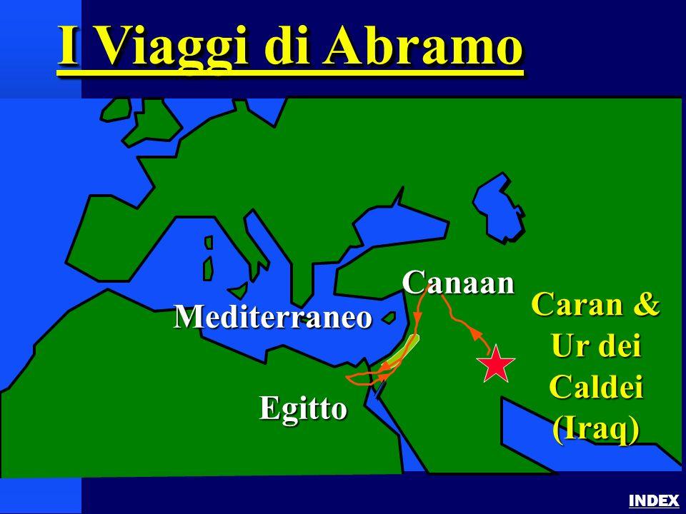 I Viaggi di Abramo Canaan Caran & Ur dei Caldei Mediterraneo (Iraq)