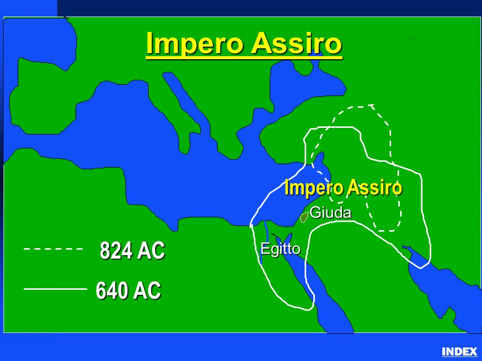 824 AC 640 AC Impero Assiro Giuda Egitto Assyrian Empire INDEX