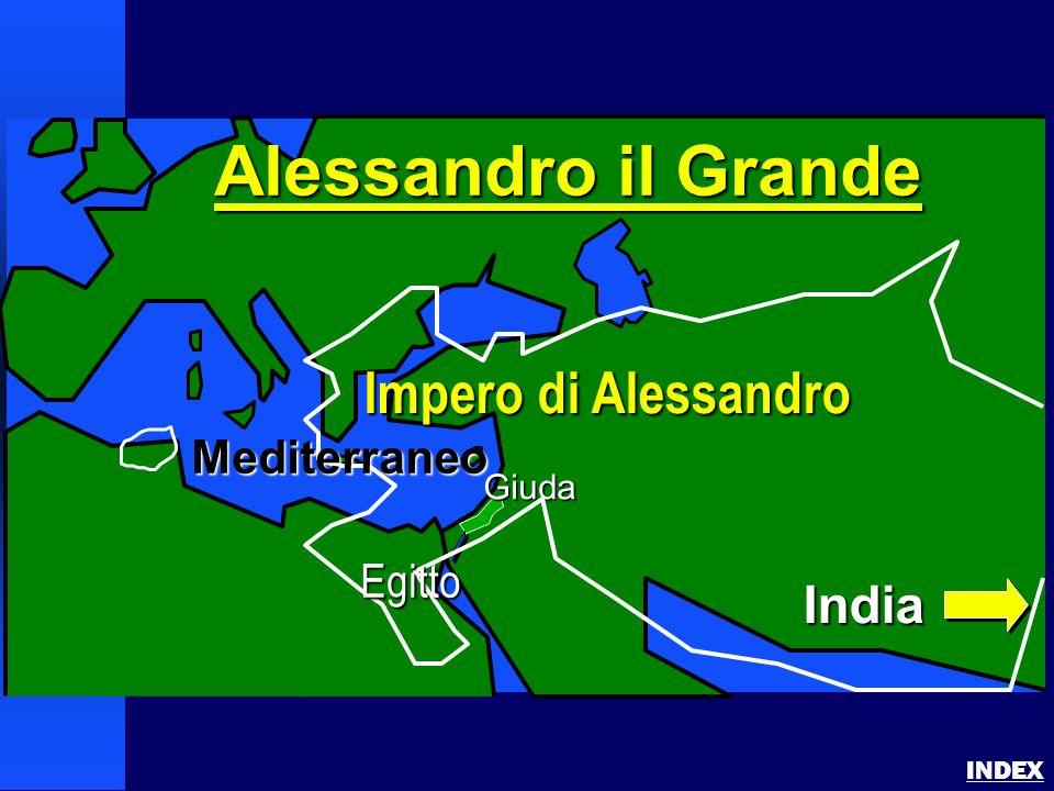 Alessandro il Grande Impero di Alessandro India Mediterraneo Egitto