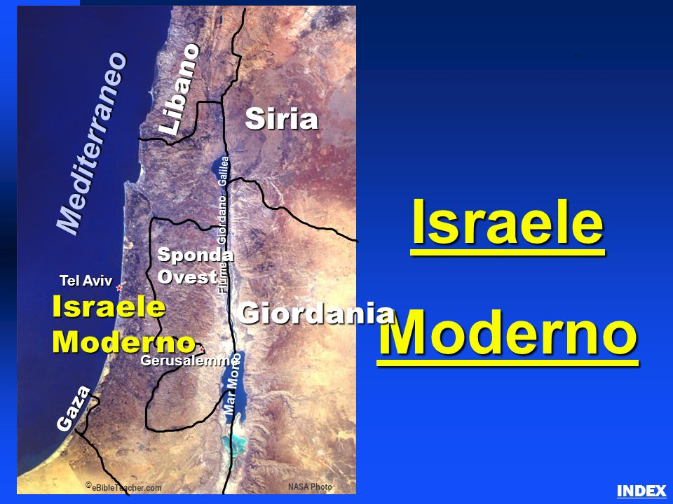 Israele Moderno Mediterraneo Siria Israele Giordania Moderno Libano