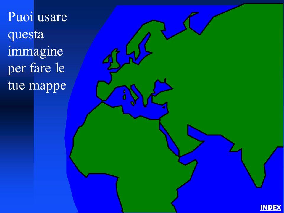Puoi usare questa immagine per fare le tue mappe
