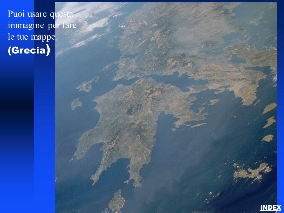 Puoi usare questa immagine per fare le tue mappe (Grecia)