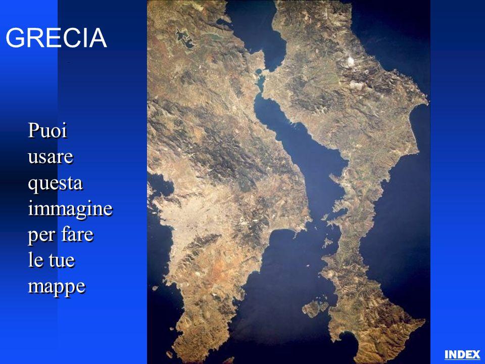 GRECIA Athens Puoi usare questa immagine per fare le tue mappe INDEX