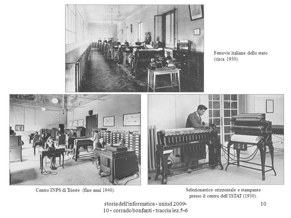 Centro INPS di Trieste (fine anni 1940).