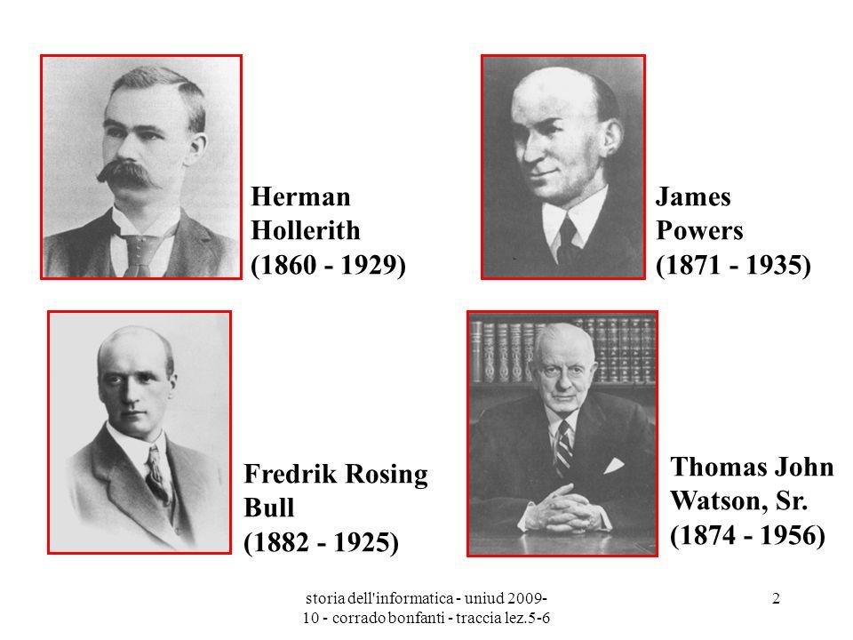 Thomas John Watson, Sr. (1874 - 1956)
